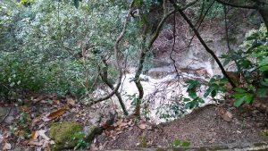 布引の滝・雌滝、上から